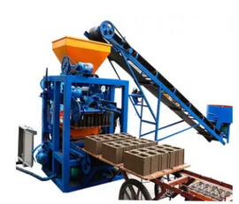new SINOWAY QT4-24 block making machine