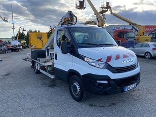 damaged IVECO DAILY 35-120 /Multitel  bucket truck