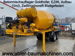 GOLDHOFER concrete mixer semi-trailer