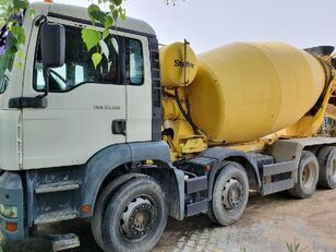 Stetter  on chassis MAN 35.300 concrete mixer truck