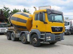 Liebherr  on chassis MAN TGS 32.400 concrete mixer truck