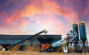 new FABO TURBOMIX-100 MOBILE CONCRETE PLANT READY ON STOCK NOW 100 M3/H. concrete plant