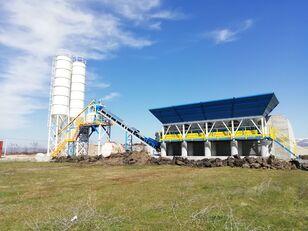 new PROMAX Compact Concrete Batching Plant PROMAX C60-SNG LINE(60m³/h) concrete plant